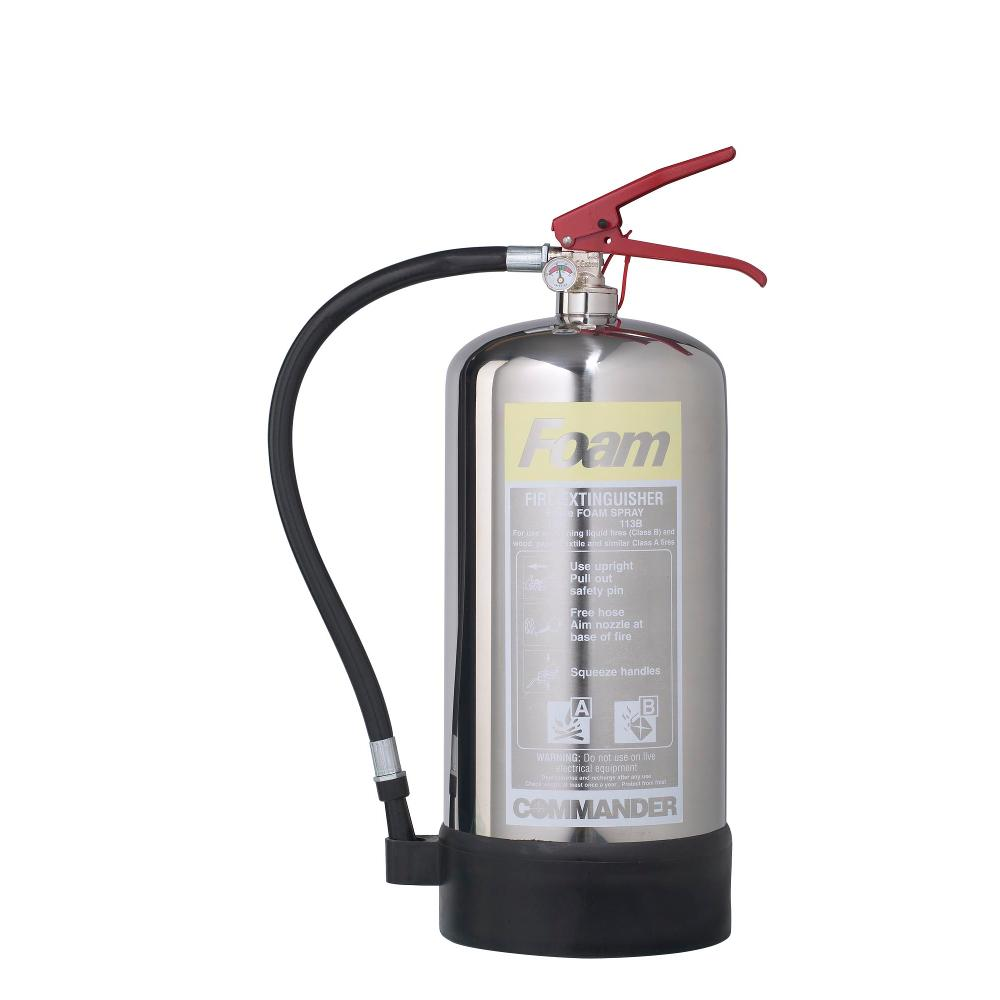 6-Litre-Stainless-Steel-foam-fire-extinguisher