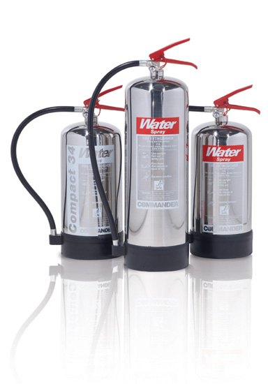 9 Litre Stainless steel water fire extinguisher