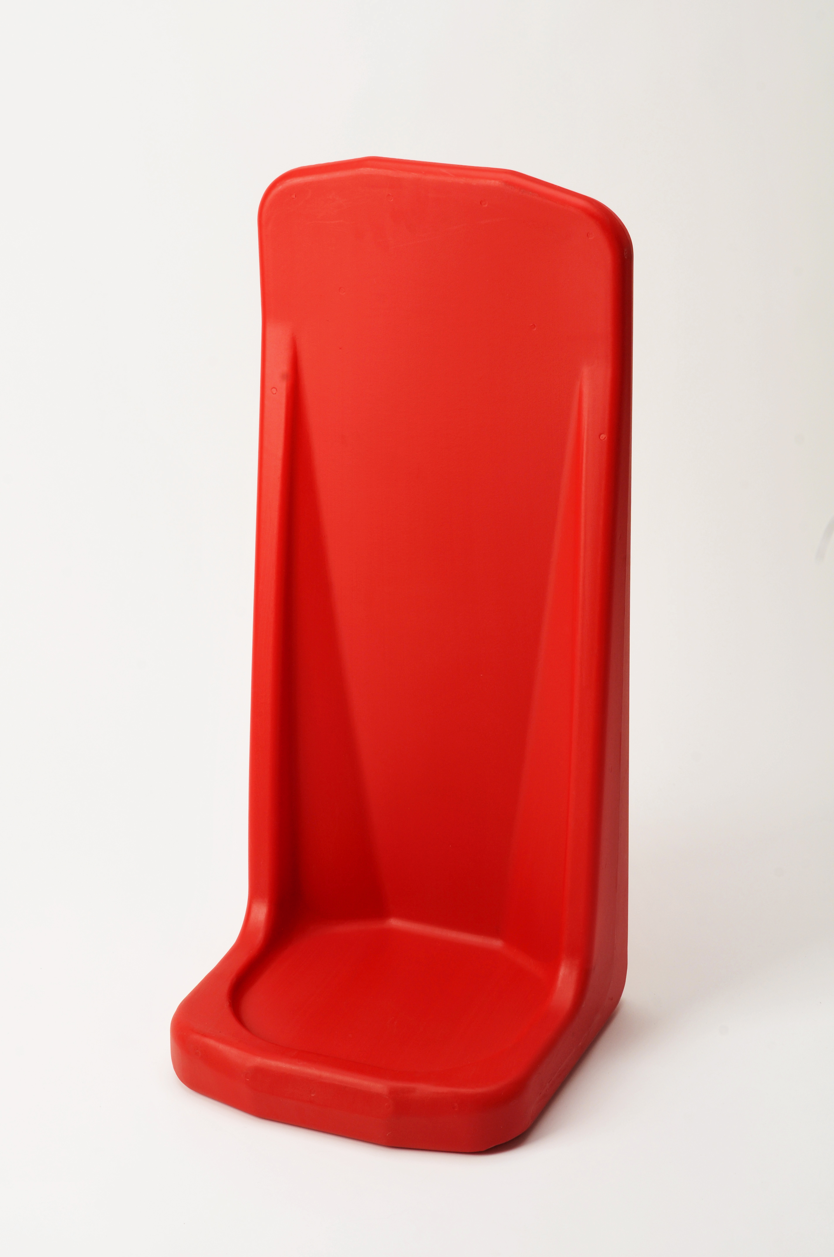 single red fire extinguisher stand plastic